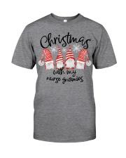 NURSE GNOMIES Classic T-Shirt front