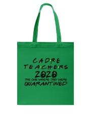 CADRE TEACHERS Tote Bag thumbnail