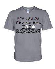 4TH GRADE  V-Neck T-Shirt thumbnail