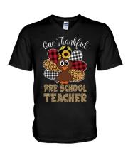 THANKFUL PRESCHOOL V-Neck T-Shirt thumbnail