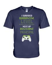 ASSISTANT PRINCIPAL LEVEL V-Neck T-Shirt thumbnail