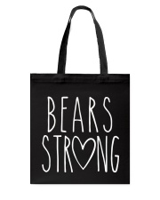 BEARS  STRONG Tote Bag thumbnail