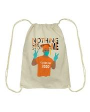 ORANGE - NOTHING CAN STOP ME Drawstring Bag thumbnail