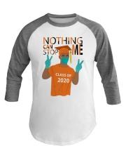ORANGE - NOTHING CAN STOP ME Baseball Tee thumbnail
