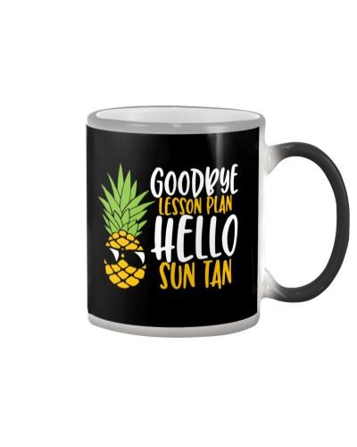 GOODBYE LESSON PLAN - HELLO SUN TAN