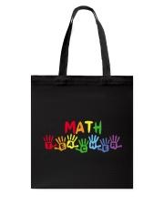 MATH TEACHER DESIGN Tote Bag thumbnail