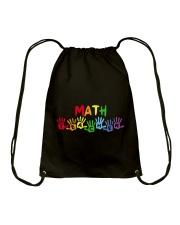 MATH TEACHER DESIGN Drawstring Bag thumbnail