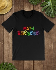 MATH TEACHER DESIGN Classic T-Shirt lifestyle-mens-crewneck-front-18