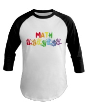MATH TEACHER DESIGN Baseball Tee thumbnail