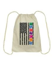 AUTISM FLAG Drawstring Bag thumbnail