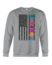 AUTISM FLAG Crewneck Sweatshirt thumbnail