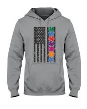 AUTISM FLAG Hooded Sweatshirt thumbnail