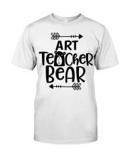 ART TEACHER BEAR Classic T-Shirt thumbnail