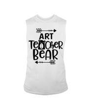 ART TEACHER BEAR Sleeveless Tee thumbnail