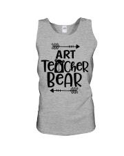 ART TEACHER BEAR Unisex Tank thumbnail