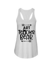ART TEACHER BEAR Ladies Flowy Tank thumbnail