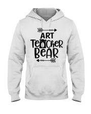 ART TEACHER BEAR Hooded Sweatshirt thumbnail