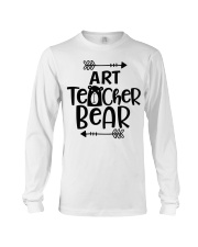 ART TEACHER BEAR Long Sleeve Tee thumbnail