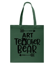 ART TEACHER BEAR Tote Bag thumbnail