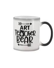 ART TEACHER BEAR Color Changing Mug thumbnail