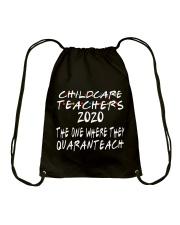 CHILDCARE TEACHERS Drawstring Bag thumbnail