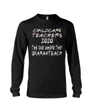 CHILDCARE TEACHERS Long Sleeve Tee thumbnail