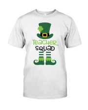 TEACHER SQUAD Classic T-Shirt front