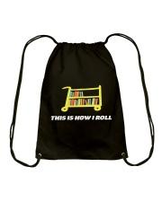 THIS IS HOW I ROLL Drawstring Bag thumbnail