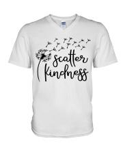 SCATTER KINDNESS V-Neck T-Shirt thumbnail