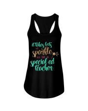SPED TEACHER Ladies Flowy Tank thumbnail