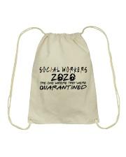 SOCIAL WORKERS Drawstring Bag thumbnail