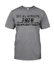 SOCIAL WORKERS Classic T-Shirt front