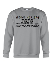 SOCIAL WORKERS Crewneck Sweatshirt thumbnail