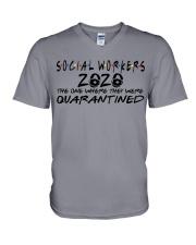 SOCIAL WORKERS V-Neck T-Shirt thumbnail