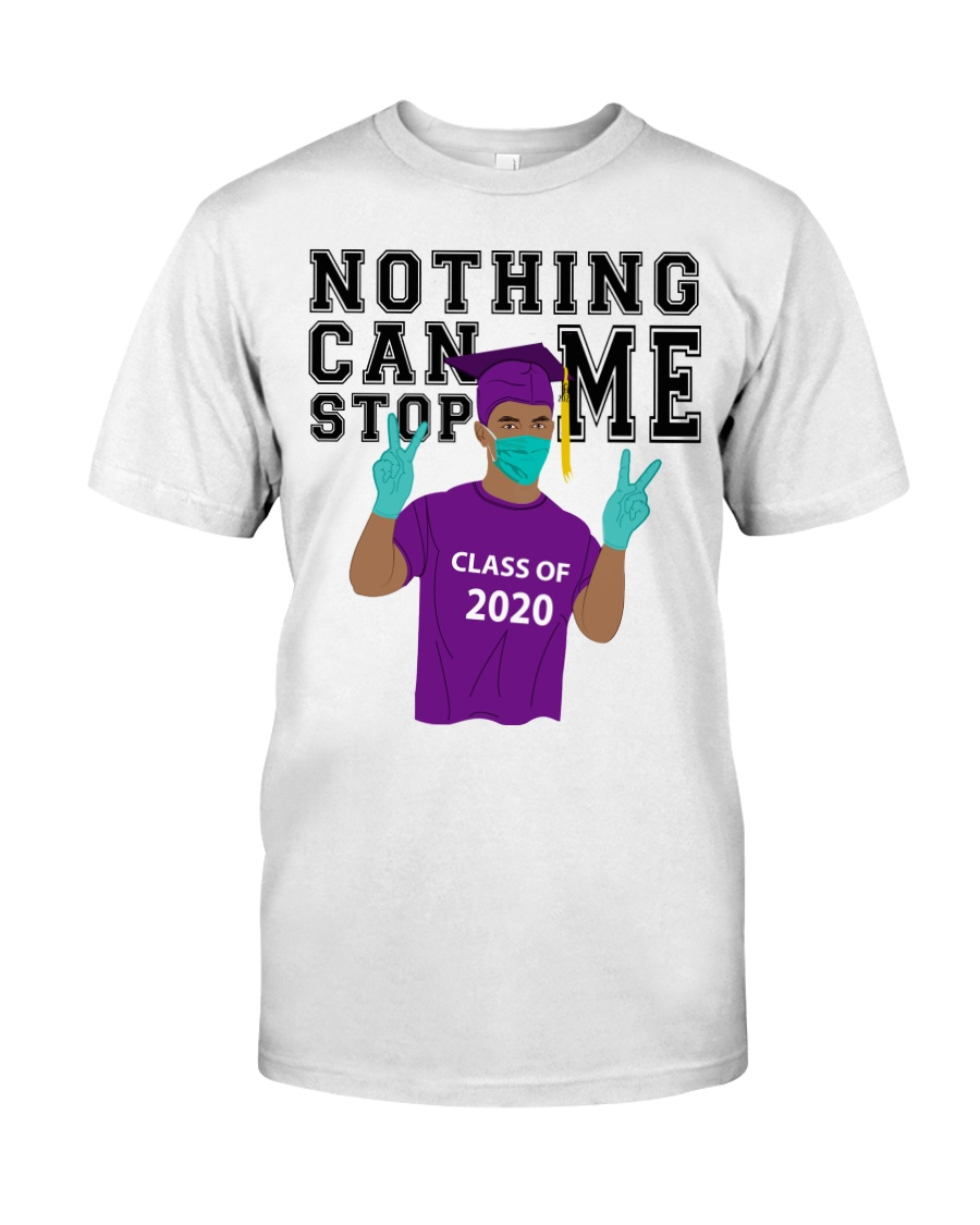 PURPLE - NOTHING CAN STOP ME Classic T-Shirt
