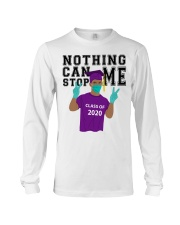 PURPLE - NOTHING CAN STOP ME Long Sleeve Tee thumbnail