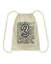 THIRD GRADE TYPO Drawstring Bag thumbnail