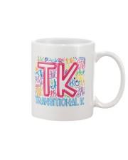 TRANSITIONAL KINDERGARTEN TYPOGRAPHIC  Mug thumbnail