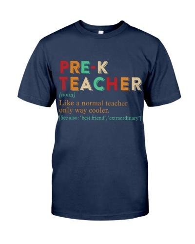 PRE-K TEACHER
