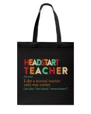 HEADSTART TEACHER Tote Bag thumbnail