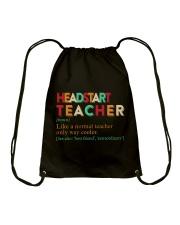 HEADSTART TEACHER Drawstring Bag thumbnail
