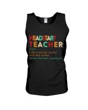 HEADSTART TEACHER Unisex Tank thumbnail