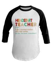 HEADSTART TEACHER Baseball Tee thumbnail