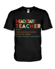 HEADSTART TEACHER V-Neck T-Shirt thumbnail