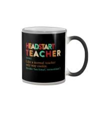 HEADSTART TEACHER Color Changing Mug thumbnail