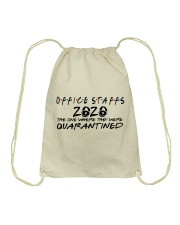 OFFICE STAFF  Drawstring Bag tile