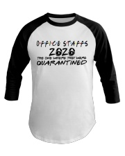 OFFICE STAFF  Baseball Tee tile
