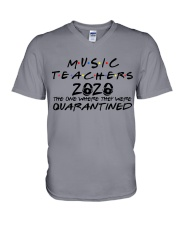 MUSIC  V-Neck T-Shirt thumbnail