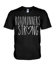ROADRUNNERS STRONG V-Neck T-Shirt thumbnail