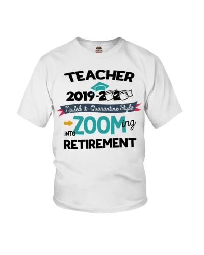 TEACHER ZOOMING INTO RETIREMENT